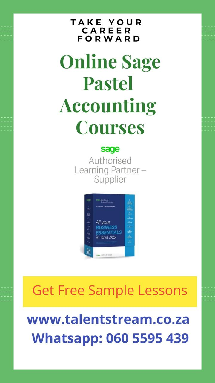 Sage Pastel Accounting Courses